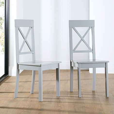 Kendal Painted Grey Dining Chair