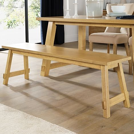 Croft Oak Dining Bench