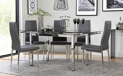 Grey Black Dining Room Brilliant Ideas Of Highlights Post Grey Dining Room  Table Sets .