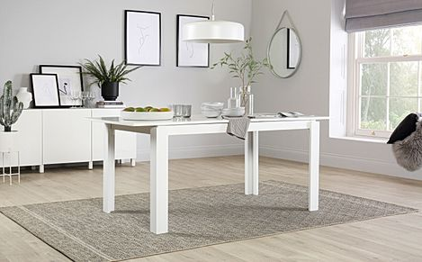Aspen White 150-180cm Extending Dining Table