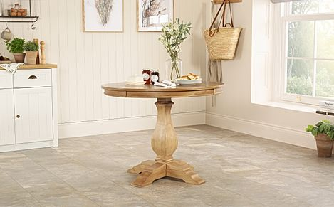 Cavendish Round Oak 100cm Dining Table