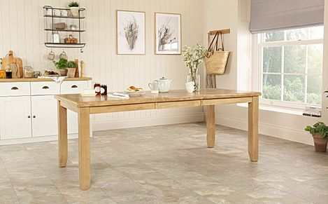 Highbury Oak Extending Dining Table - 150-200cm