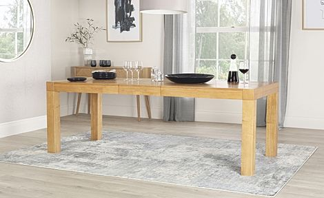 Cambridge Oak 175-220cm Extending Dining Table