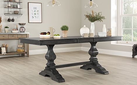 Cavendish Grey Wood 160-200cm Extending Dining Table
