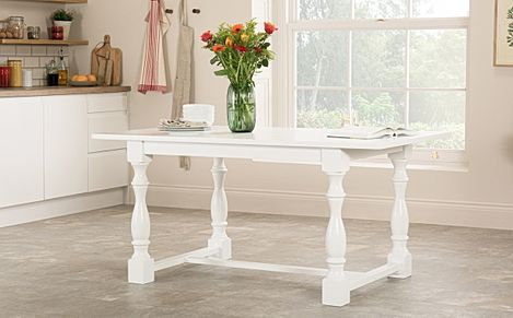 Devonshire White Dining Table 160cm