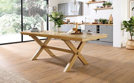 Grange Oak 180-220cm Extending Dining Table