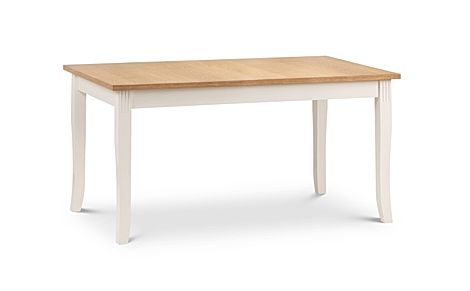 Lindale Ivory and Oak 150cm Dining Table
