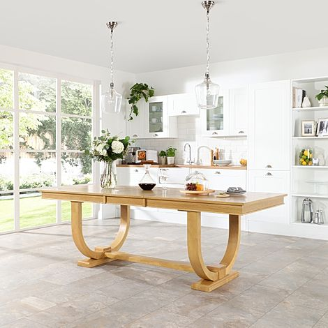 Pavilion Oak 180-225cm Extending Dining Table