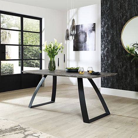 Ancona Concrete 180cm Dining Table