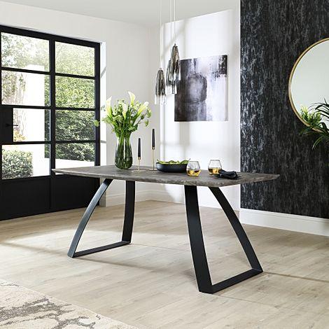 Ancona Concrete 180cm Dining Table