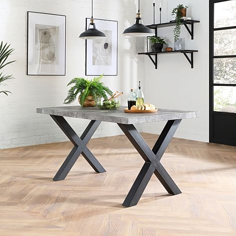 Franklin Concrete 150cm Dining Table