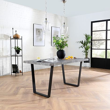 Addison Concrete 150cm Dining Table
