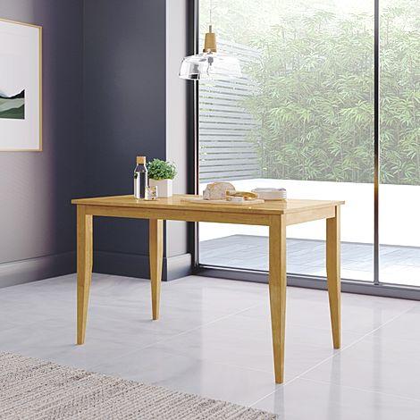 Finley Oak 114cm Dining Table