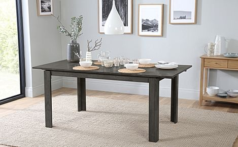 Bali Grey Wood 150-180cm Extending Dining Table