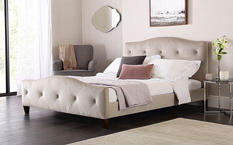 Sandringham Mink Velvet Bed Double