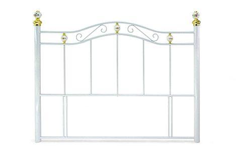 Warwick White Metal King Size Headboard