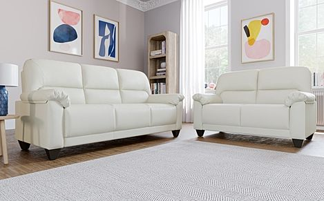Kenton Small Ivory 3+2 Seater Sofa Set