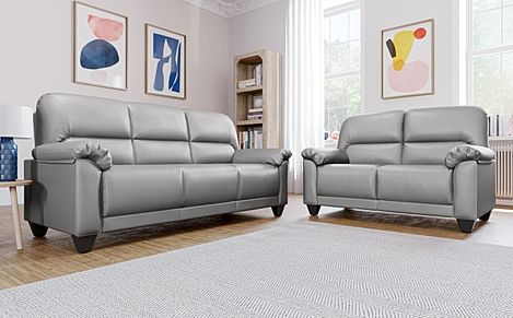 Kenton Small Light Grey 3+2 Seater Sofa Set