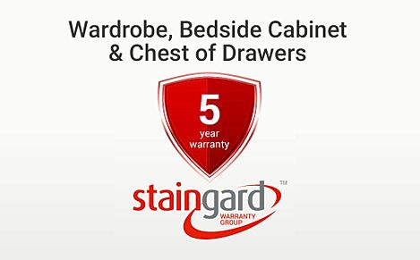 Protection Plus 5 Year Furniture Cover - Wardrobe, Bedside Cabinet & Chest of Drawers