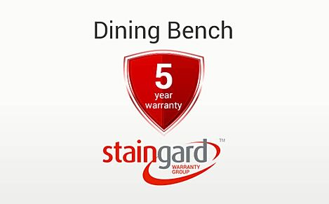 Protection Plus 5 Year Furniture Cover - Dining Bench