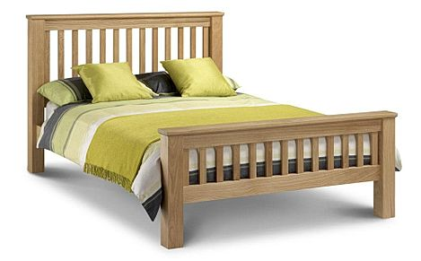 Amsterdam Solid Oak Super King Size Bed