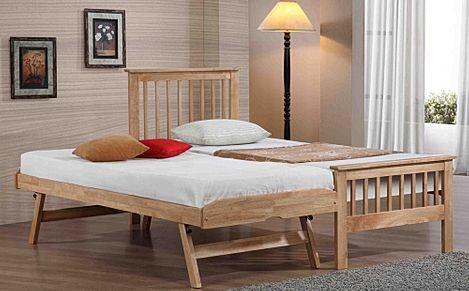 Pentre Wooden Single Guest Bed