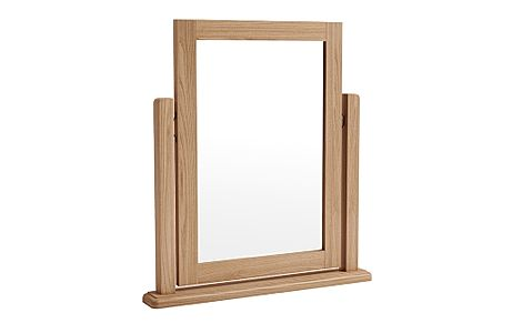Arden Light Oak Dressing Table Mirror