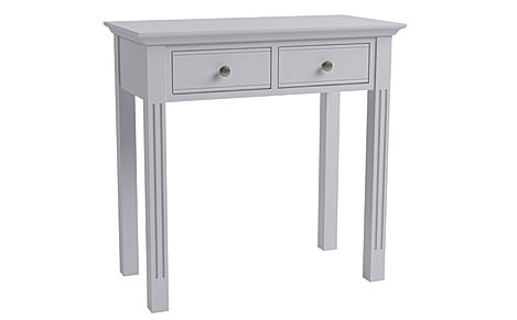 Berkeley Painted Grey 2 Drawer Dressing Table