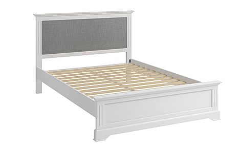 Berkeley Painted White Wooden Double Bed