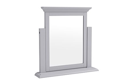 Berkeley Painted Grey Dressing Table Mirror