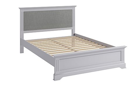 Berkeley Painted Grey Wooden King Size Bed