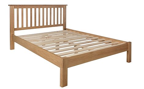Derwent Oak Wooden Bed Double