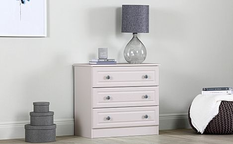 Pembroke Stone 3 Drawer Chest Of Drawers