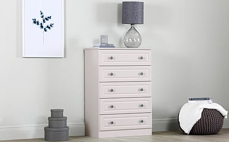 Pembroke Stone 5 Drawer Chest Of Drawers