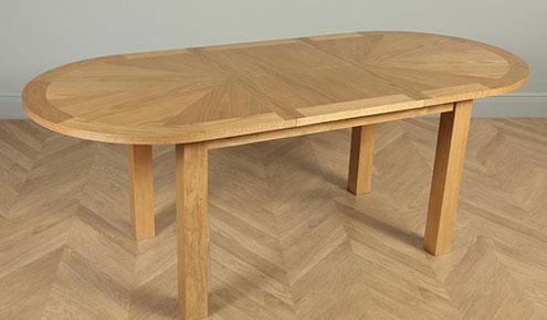 Harrington Oval Dining Table