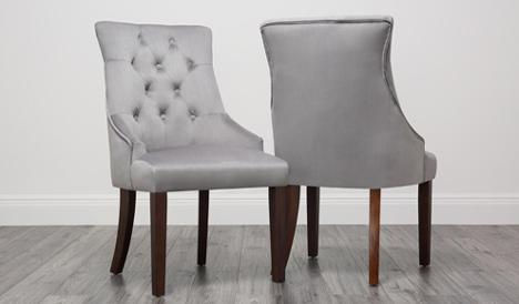 Duke Velvet Dining Chair