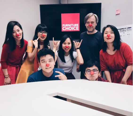 Red Nose Day at Furniture Choice