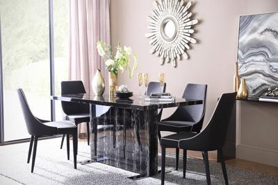 Magnus table Modena chair