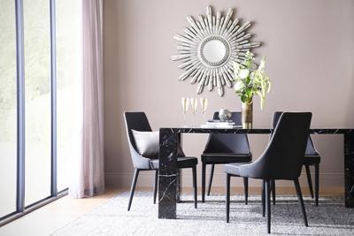 Strata table Modena chair
