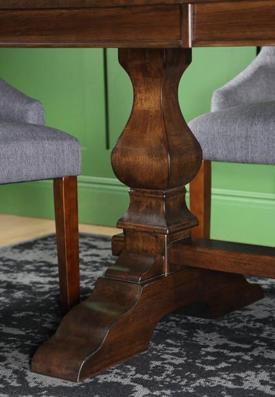 Cavendish dark wood table Duke chair