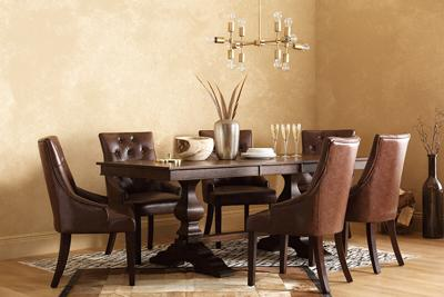 Cavendish dark wood dining table