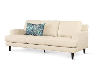 Finsbury ivory 3-seater
