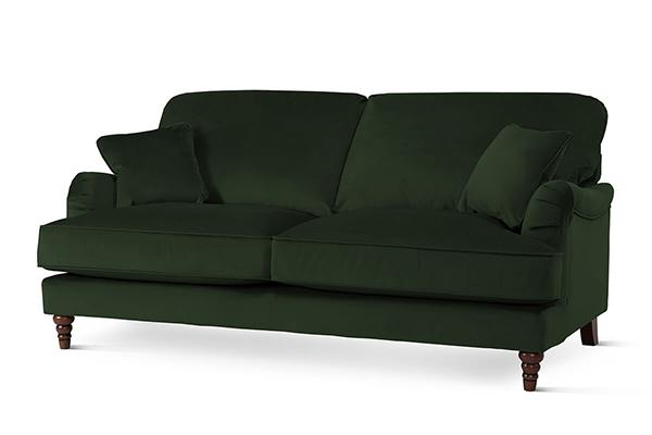 Charleston Emerald Green 3 Seater