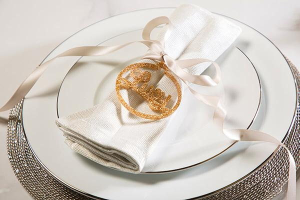 Savoy White Marble Dining Table Place Setting DIY 1