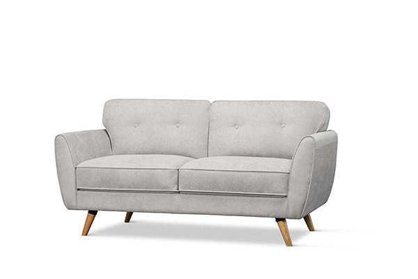 Harlow Dove Grey 2 Seater