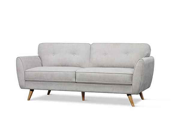 Harlow Dove Grey 3 Seater