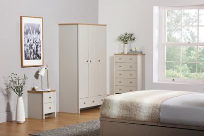 Ashworth Bedroom set 3 door wardrobe
