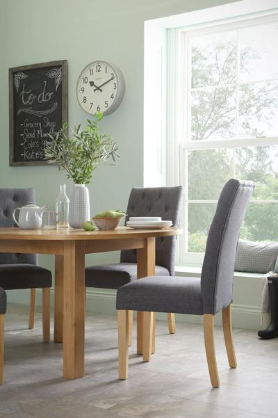 Harrington table Hatfield slate chair