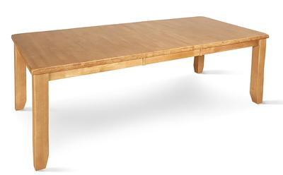Highbury oak extending table