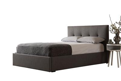 Hexham grey storage bed option